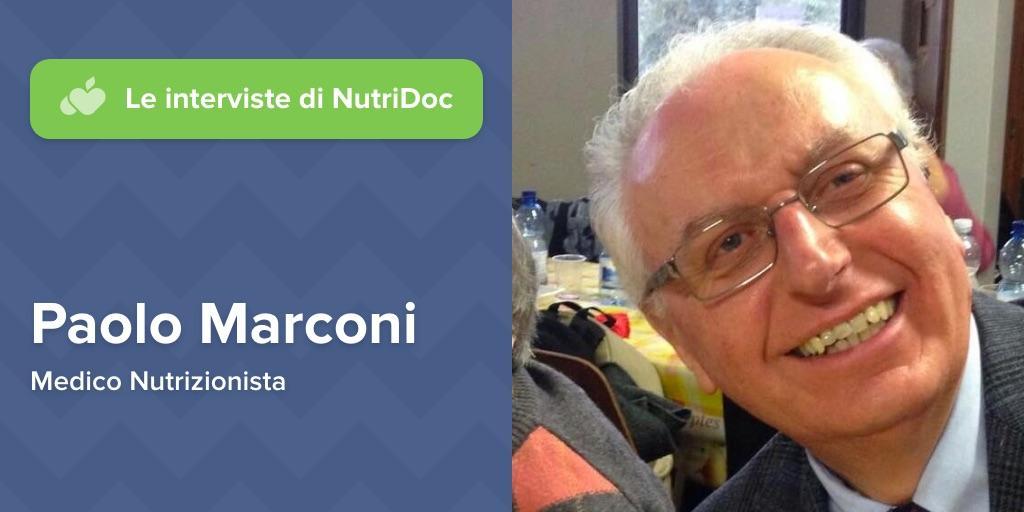 Paolo Marconi Dietologo Intervista